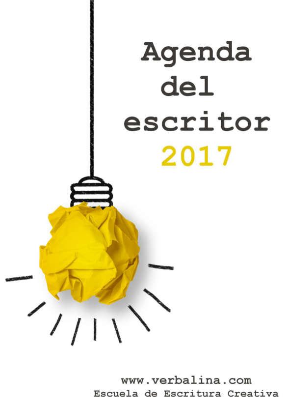 Recursos para escritores: La agenda que necesitas en 2017 para conseguir tus objetivos como escritor